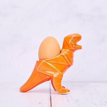 Dinosaur Orange Egg Cup