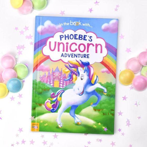Personalised Unicorn Adventure Storybook