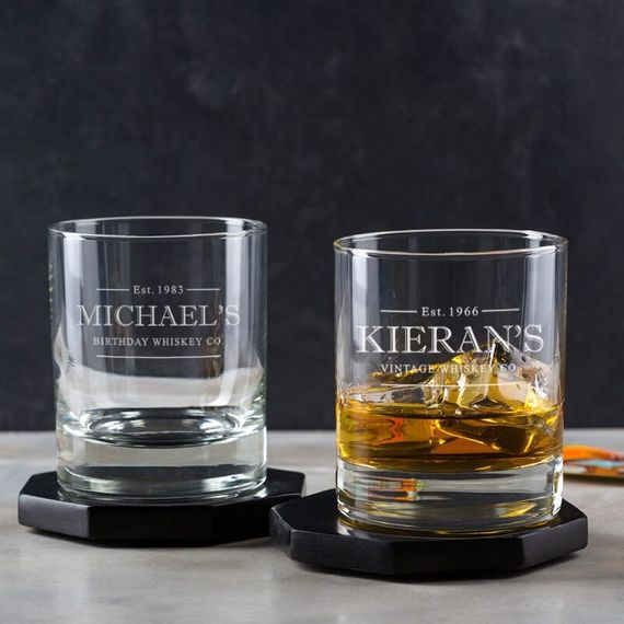 Personalised Whisky Glass Tumbler