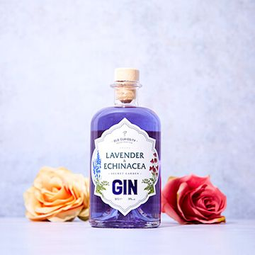 The Old Curiosity Secret Garden Gin - Lavender And Echinacea 50cl