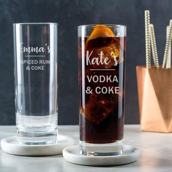 Personalised Hi-Ball Glass