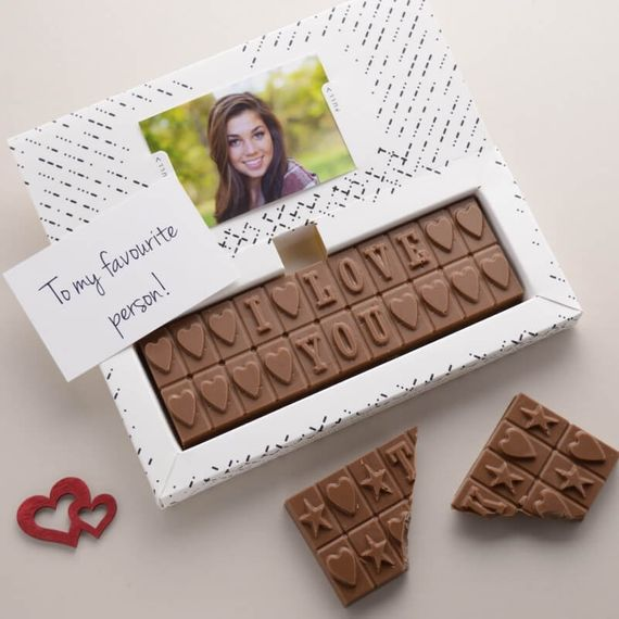 Personalised Chocolates for Couples