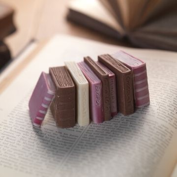Miniature Books Chocolate