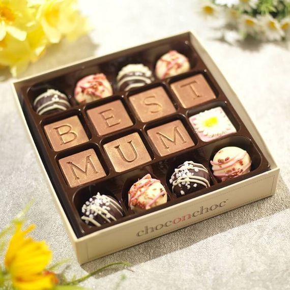 Best Mum Chocolate Truffle Box