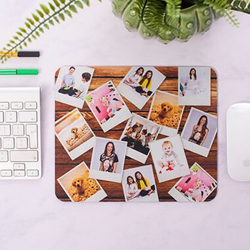 Personalised Polaroid Photo Mouse Mat