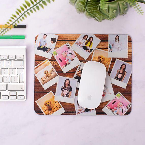 Personalised Polaroid Photo Mouse Mat