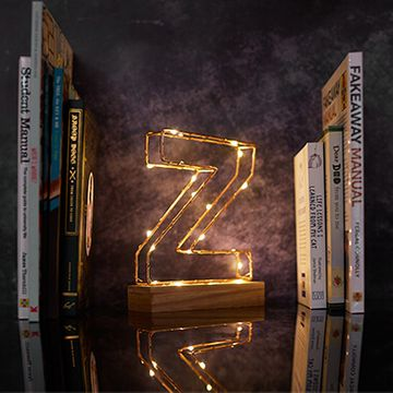 Light Up Letters Wire Frame