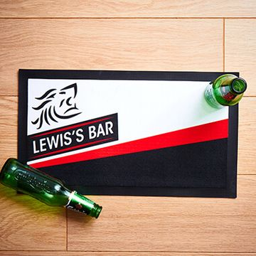 Personalised Name Bar Mat