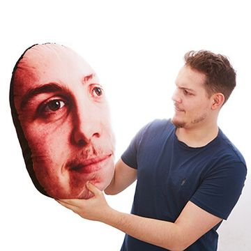 Personalised Giant Face Cushion