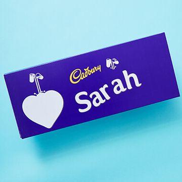 Personalised Cadbury Dairy Milk Bar - 850g