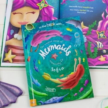 Personalised Mermaid Storybook