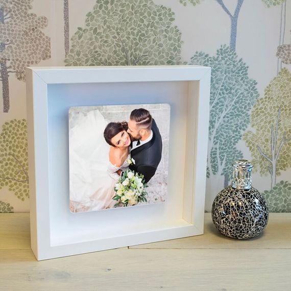 Personalised Single Photo Box Frame
