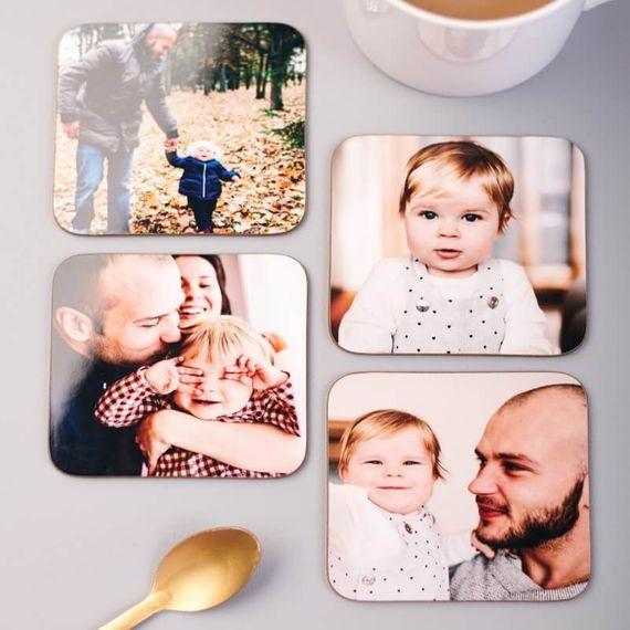 Personalised Photo Coasters