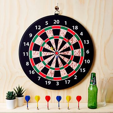 Personalised Photo Magnetic Dart Board - Multi Face