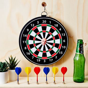Personalised Photo Magnetic Dart Board - Single Face