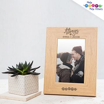 Help Harry Help Others Personalised Wooden Frame
