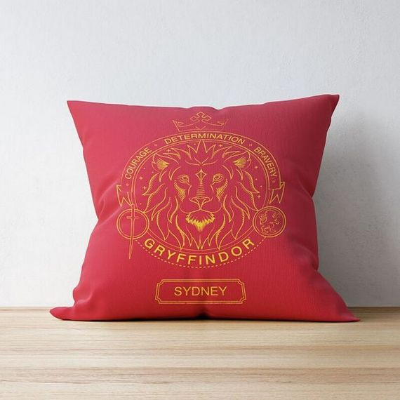 Personalised Gryffindor House Emblem Cushion