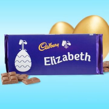 Personalised Easter Cadbury Dairy Milk - 360g