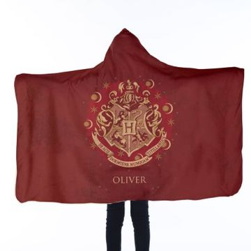 Personalised Harry Potter Kids Hooded Blanket