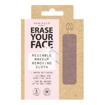 Erase Your Face - Pastel Pink Reusable Makeup Removing Cloth - Single