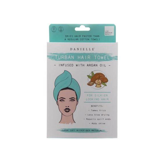 Turban Hair Towel - Infused With Argan Oil