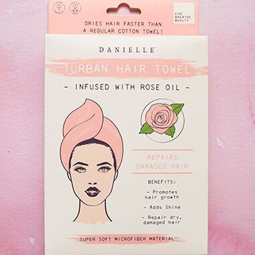 Turban Hair Towel - Infused With Rose Oil