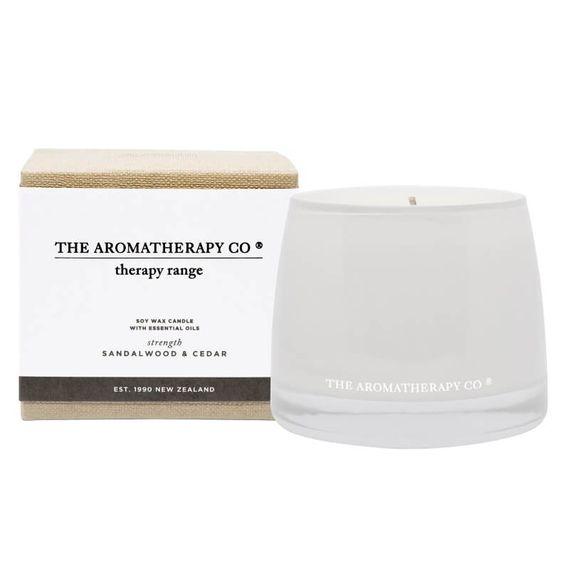 Sandalwood & Cedar Therapy Candle