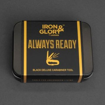 Iron And Glory Always Ready Black