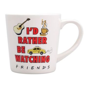 Friends Rather Be Watching Mug