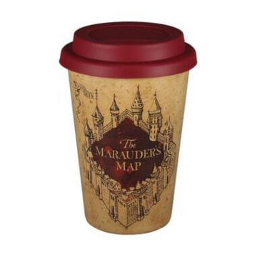 Harry Potter Huskup Travel Mug - Marauders Map
