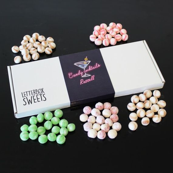 Personalised Candy Cocktails Letterbox Sweets