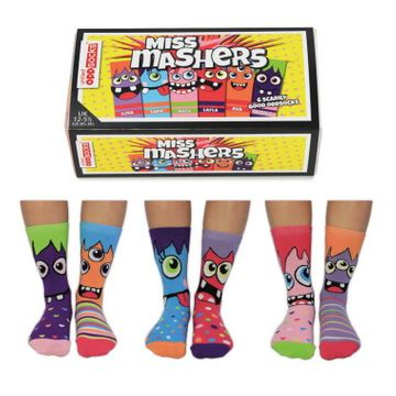 Miss Mashers Girls Socks