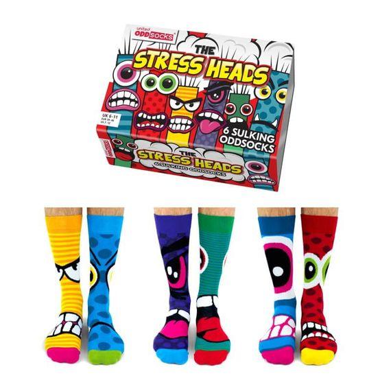 Stress Heads Mens Socks