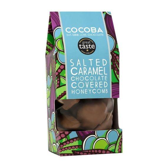 Salted Caramel Milk Chocolate Covered Honeycomb