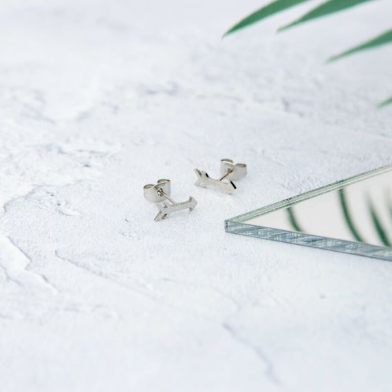 Arrow Earrings - Silver