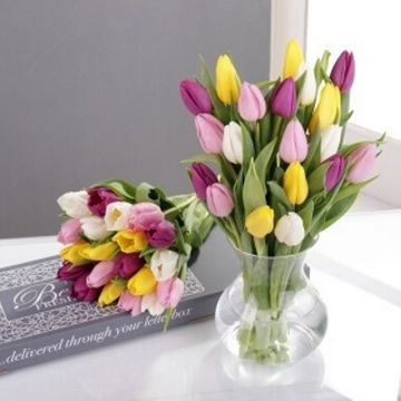 Personalised Letterbox Tulips