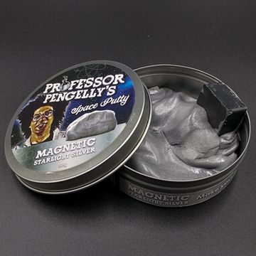Professor Pengelly's Putty - Magnetic Space Silver