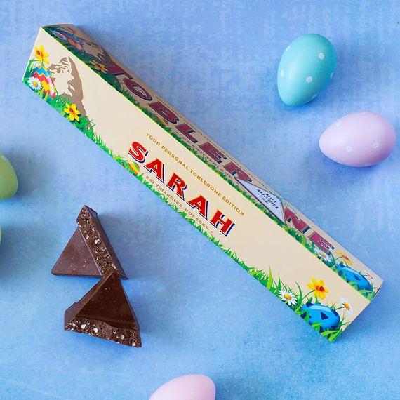 Personalised Easter Toblerone Bar