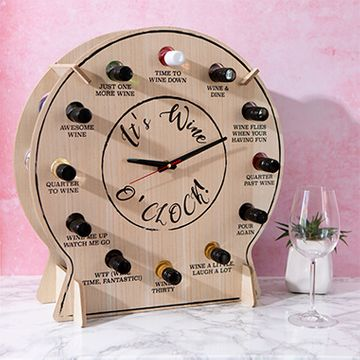 Alcho'Clock Wine Clock