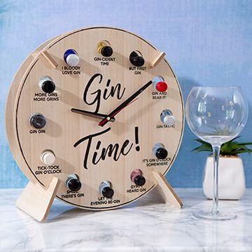 Alcho'Clock Gin Clock