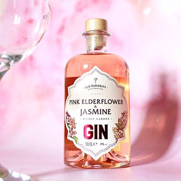 The Old Curiosity Secret Garden Gin - Pink Elderflower And Jasmine 50cl