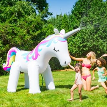 Unicorn Garden Sprinkler
