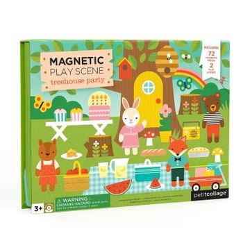 Magnetic Play Set - Treehouse Party