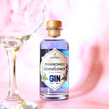 The Old Curiosity Secret Garden Gin - Chamomile And Cornflower 20cl