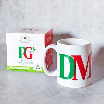 Personalised PG Tips Mug & Tea Set