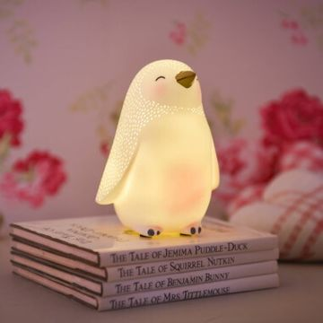 Over The Moon LED Penguin Night Light