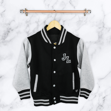 Personalised Childrens Varsity Jacket