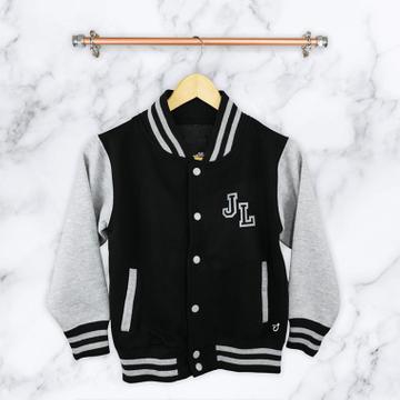 Personalised  Personalised Childrens Varsity Jacket
