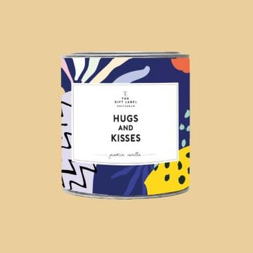 Hugs & Kisses - Large Scented Candle Tin