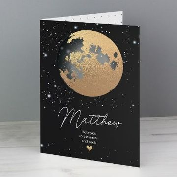 Personalised You Are My Sun My Moon Card